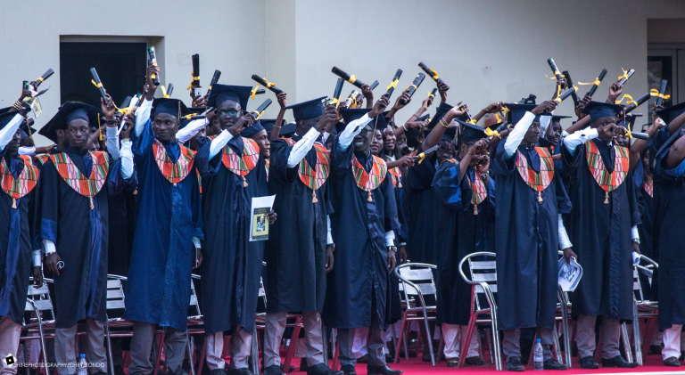 Cérémonie de remise de diplômes de l'Institut supérieur de management de Dakar (ISM).