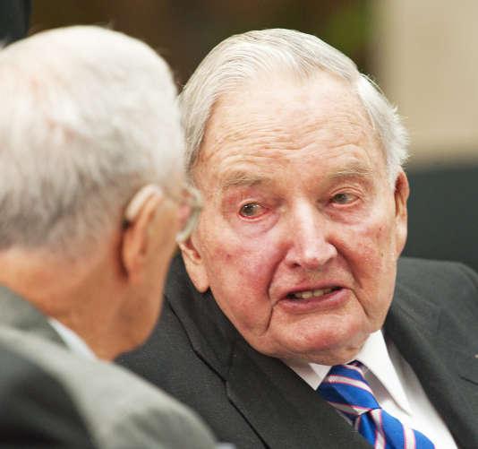David Rockfeller dirigea pendant près de 35 ans la banqueChase.