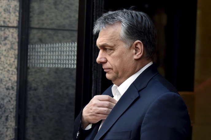 Le premier ministre hongrois, Viktor Orban, à Bruxelles, en février 2016.