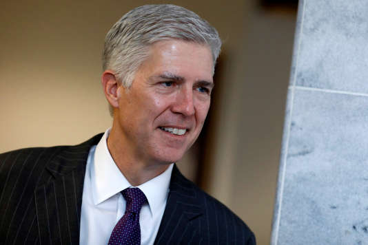 Neil Gorsuch, le 7 mars à Washington.