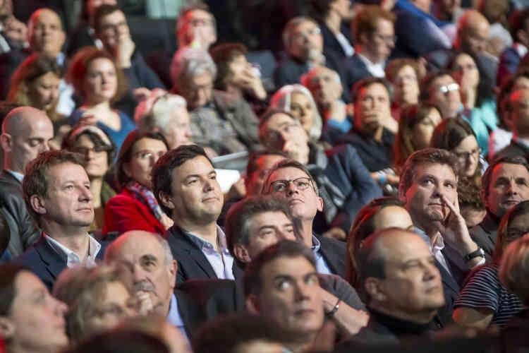 Yannick Jadot, Thomas Piketty, Vincent Peillon et Arnaud Montebourg assistaient à ce grand meeting.