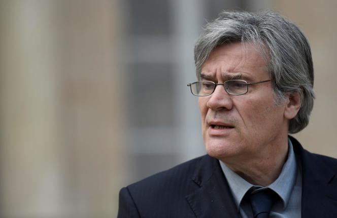 Stéphane Le Foll, porte-parole du gouvernement, à la sortie du conseil des ministres, le 24 février.