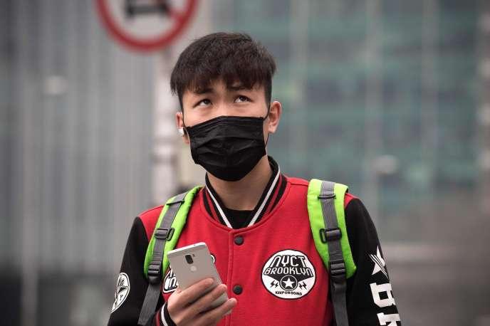 A Pékin, le 20 mars.