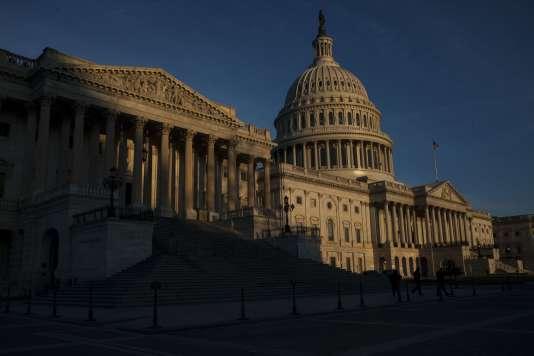 Le Capitole, à Washington, où siège le Sénat américain.