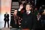 Jean-Luc Mélenchon sur le plateau du débat télévisé entre candidats à la présidentielle, le 20 mars.