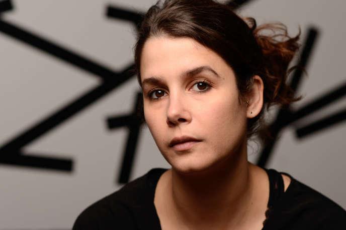 Mathilde Ramadier, auteure de «Bienvenue dans le nouveau monde».