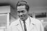 Chuck Berry à l'aéroport d'Orly, en 1965.