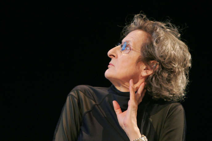 Trisha Brown à Paris, le 5 janvier 2006.