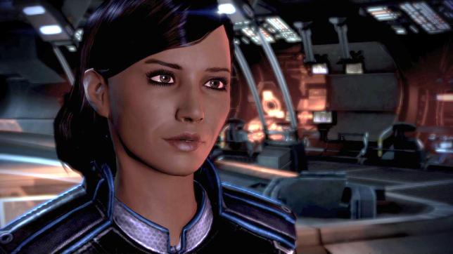 Samantha Traynor, un personnage lesbien dans «Mass Effect 3».