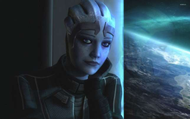 Liara T'Soni, extraterrestre asexué, est l'un des personnages préférés des fans de la série «Mass Effect».
