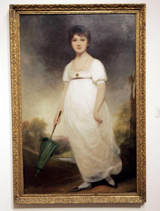 «The Rice Portait of Jane Austen» par le peintre britannique Ozias Humphry (1742-1810).