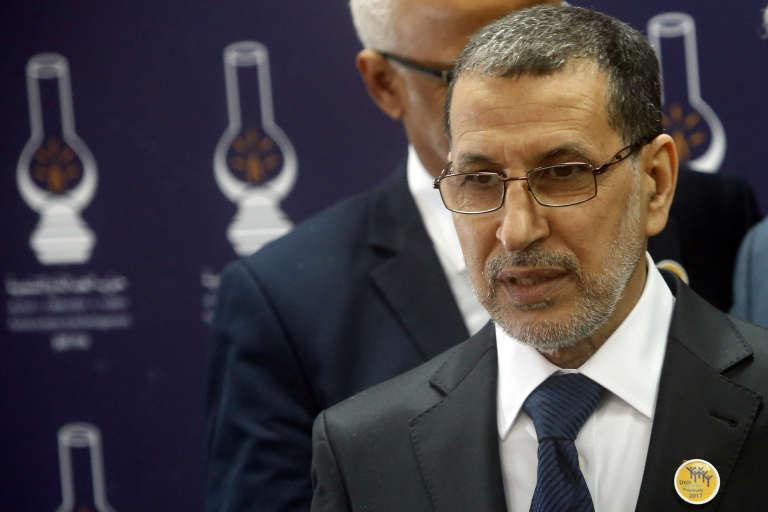 Le premier ministre marocain, Saad-Eddine Al-Othmani, le 21mars 2017, à Rabat.