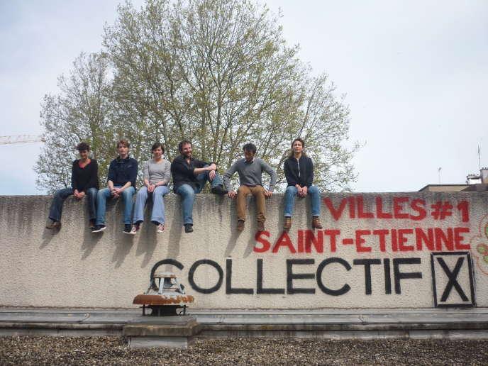 Le projet« Villes» du Collectif X a fait ses débuts à Saint-Etienne en 2013. Aujourd'hui, il est amené à évoluer dans d'autres communes.
