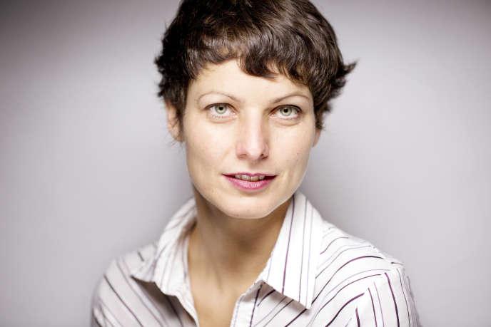Sophie Divry en 2015.
