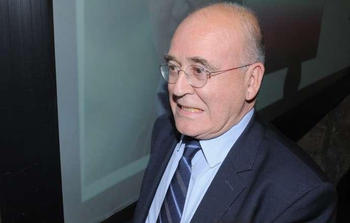 Bernard Poignant, le 30 mars 2014, à Quimper.