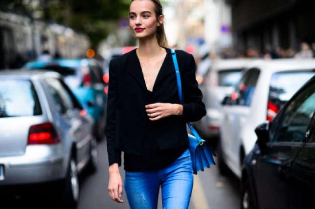 Maartje Verhoef est aujourd'hui un mannequin en vue grâce, notamment, à des photos d'elle prises dans la rue. Ici, photographiée par Adam Katz Sinding.