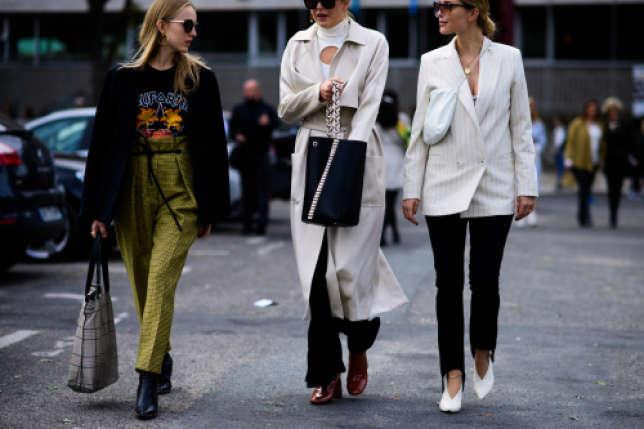 Alexandra Carl, Camille Charrière et Pernille Teisbaek, trois influenceuses mode.