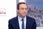Bruno Retailleau, sénateur Les Républicains et coordinateur de la campagne de François Fillon, s'esprime lors de l'émission Télé Matin sur France 2, mardi 21 mars au lendemain du débat présidentiel.