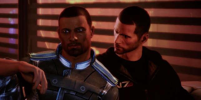 La série de jeux vidéo« Mass Effect» permet aux joueurs de vivre des histoires d'amour, hétérosexuelles ou homosexuelles.