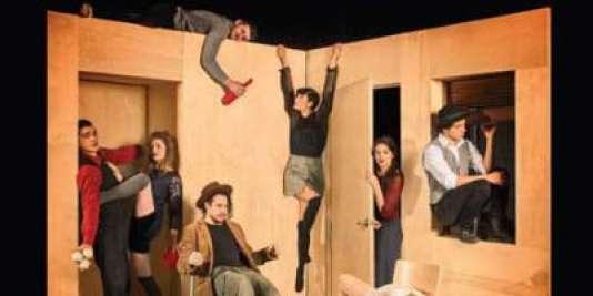 Affiche du spectacle « Réversible», par la compagnie Les 7 doigts de la main.