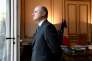 Bruno Le Roux dans son bureau au ministère de l'intérieur à Paris le 21 décembre 2016.