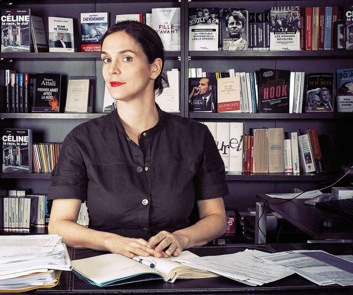 Sophie de Closets est directrice de Fayard.