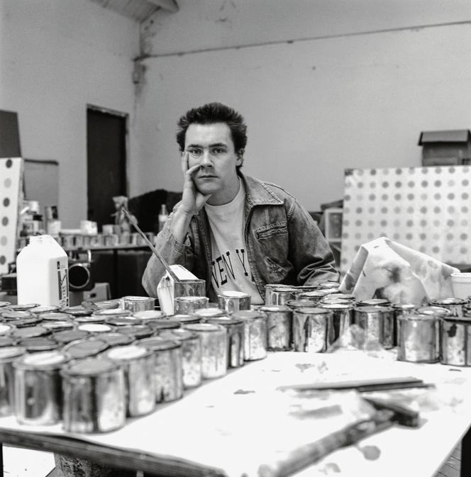 En 1993, l'atelier de Damien Hirst est déjà plein de «spot paintings».