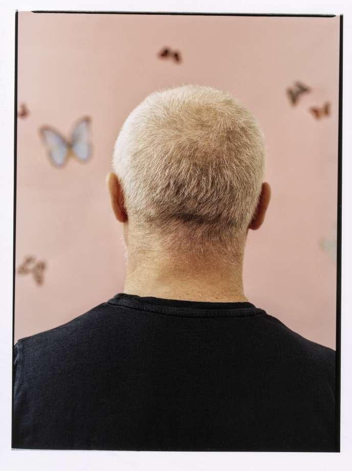 L'artiste contemporain Damien Hirst, à Londres, le 14 mars.