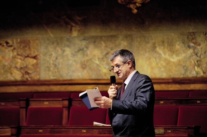 Le député MoDem à l'Assemblée nationale.