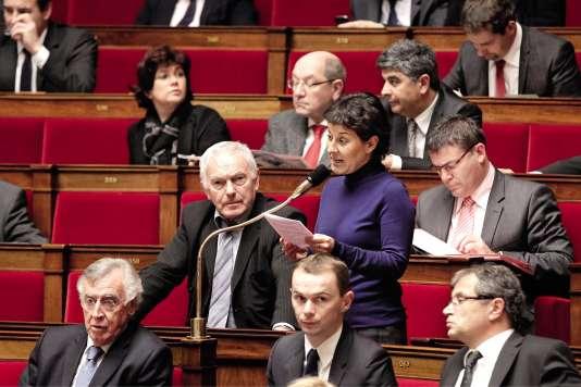 Nathalie Nieson (en 2012), députée PS de la Drôme, a choisi de quitter l'Assemblée nationale à cause de la loi sur le non-cumul des mandats.