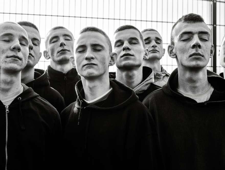 La photographe Zuza Krajewska a suivi le quotidien de jeunes au centre de détention de Studzieniec, à l'est de Varsovie.