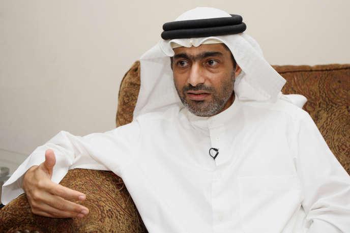 Ahmed Mansour, à Dubaï en novembre 2011.