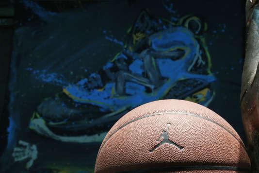 Le logo de la ligne Jordan de Nike.