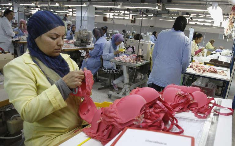 Une usine de textile à Sfax, en Tunisie : des emplois menacés par les importations turques dans le pays.