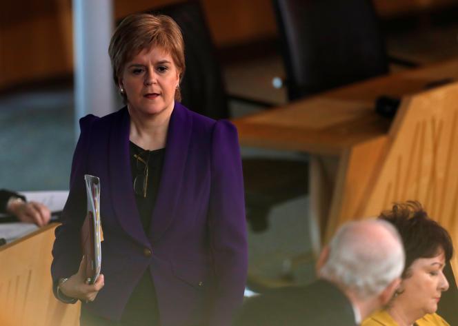 La première ministre, Nicola Sturgeon, accuse Londres de ne pas prendre en compte les intérêts écossais dans la perspective de la sortie de l'UE.