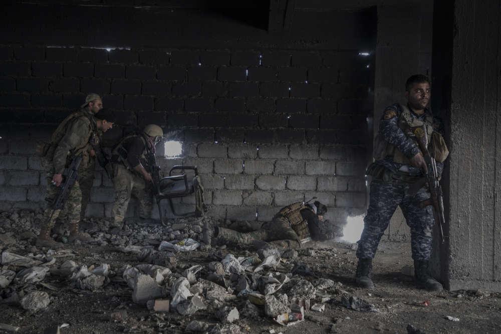 Des soldats de la Division de réaction d'urgence (ERD).