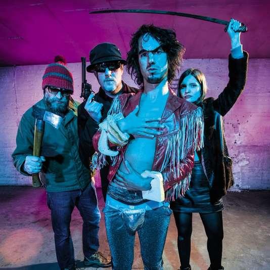 Le groupe Moonlandingz a pris vie sur scène avant de publier son premier opus.