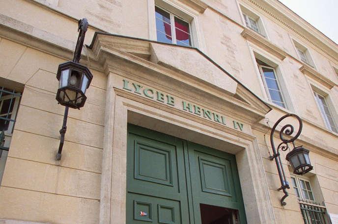 Lycée Henri-IV, à Paris.