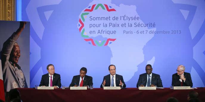 C'est le sommet de l'Elysée pour la paix et la sécurité en Afrique les 6 et 7 décembre 2013, à Paris, qui a donné naissance à la fondation AfricaFrance.