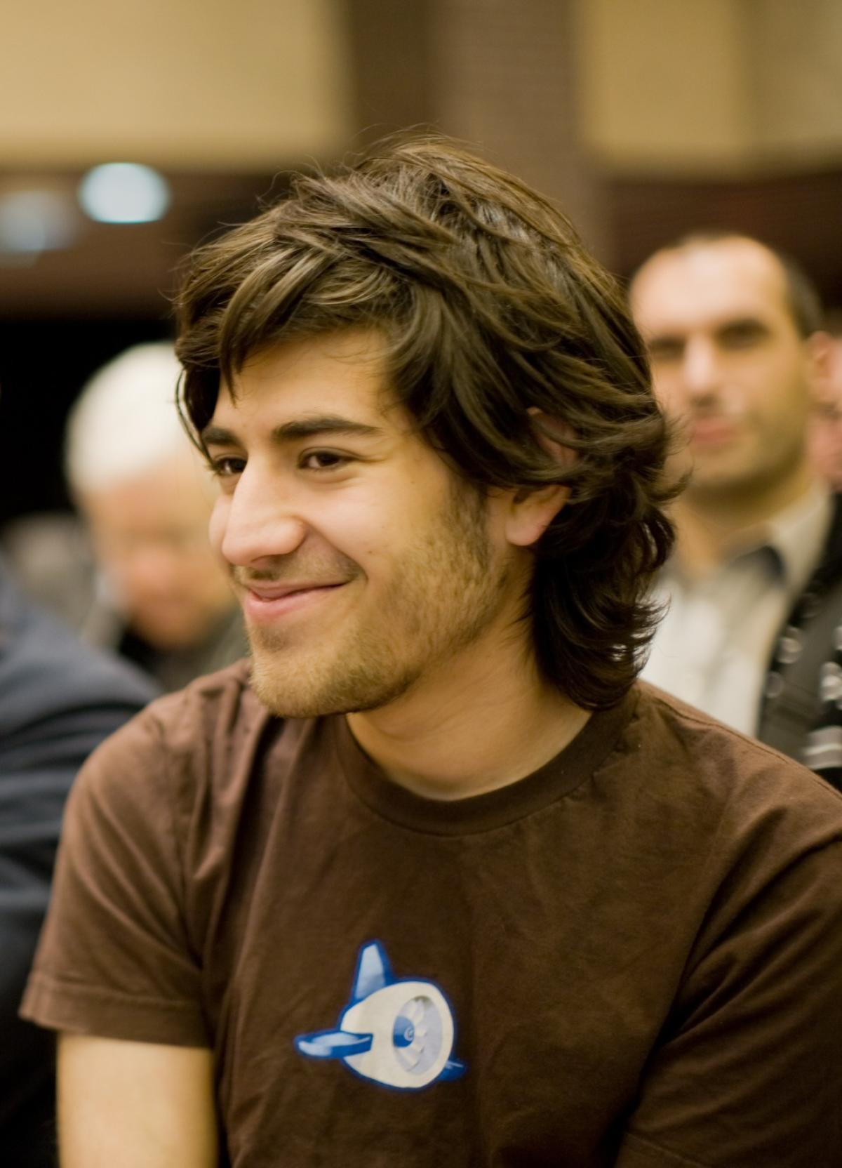 Aaron Swartz, lors d'un événement consacré à la licence Creative Commons, qu'il a contribué à mettre en place.
