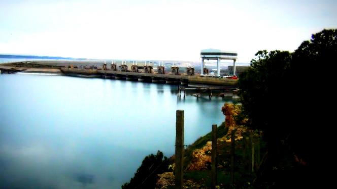 Le barrage de Tabka, en Syrie.