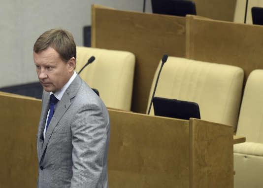 M. Voronenkov et son épouse, Maria Maksakova, ont tous deux été députés de la Douma russe jusqu'en septembre 2016.
