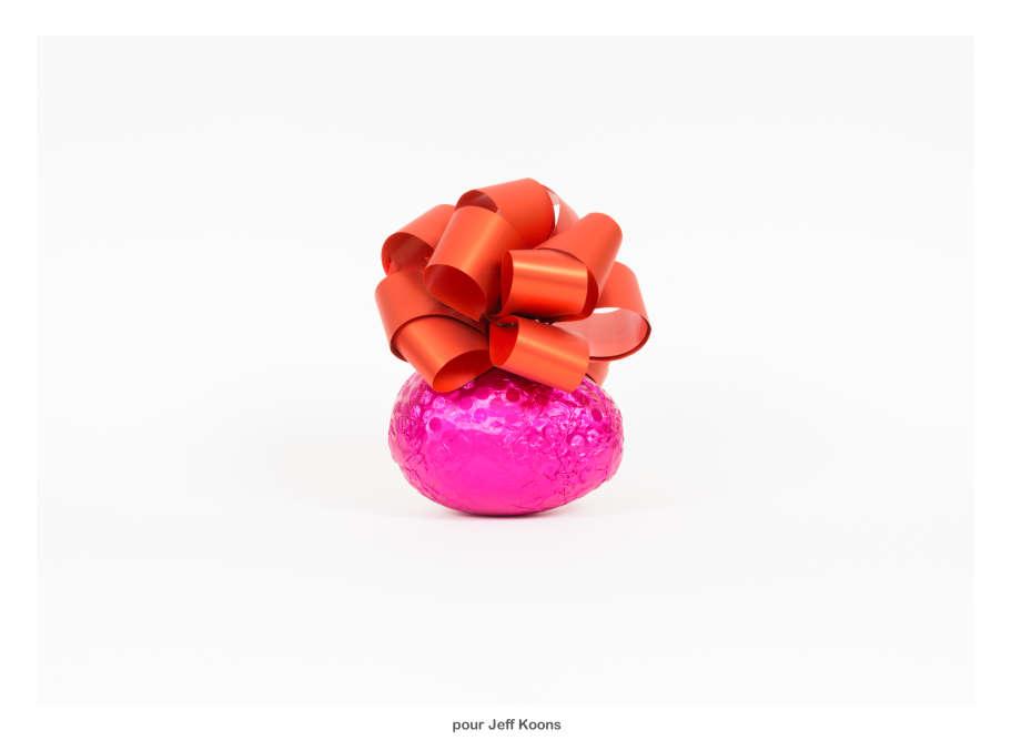 Il est passé par ici, il repassera par là, un , deux, trois ! Avec légèreté, précision et références, le duo Amaral et Barthes nous promènent dans les méandres de l'histoire de l'art grâce à l'œuf, l'aliment dont la dégustation est sans condition aucune à la portée de tous : réjouissant !
