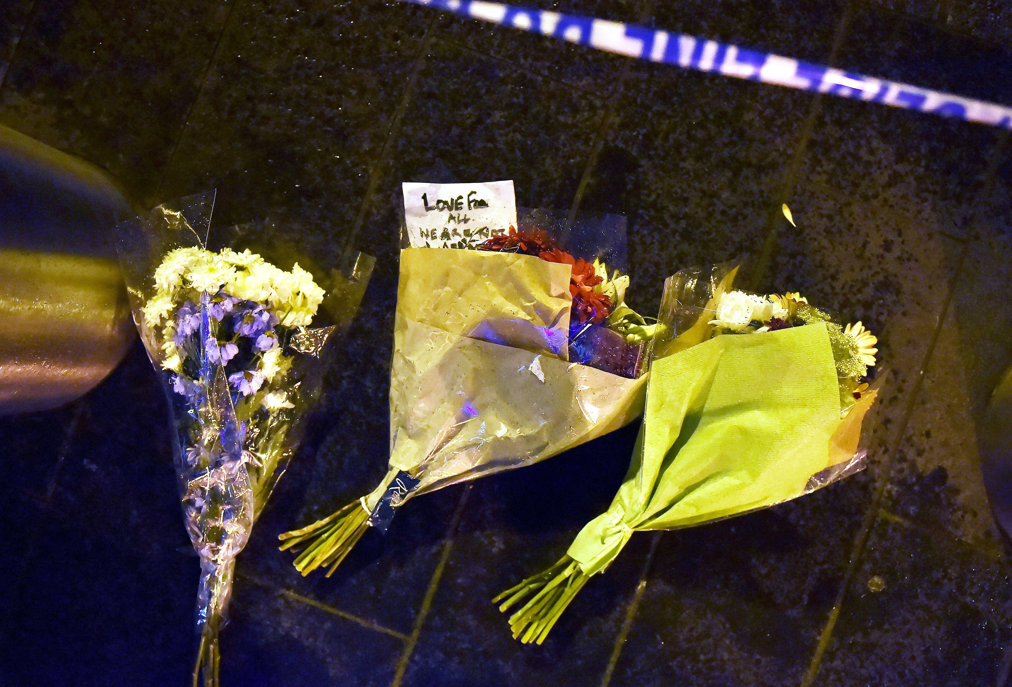 Hommages aux victimes sur le pont de Westminster, le 22 mars.