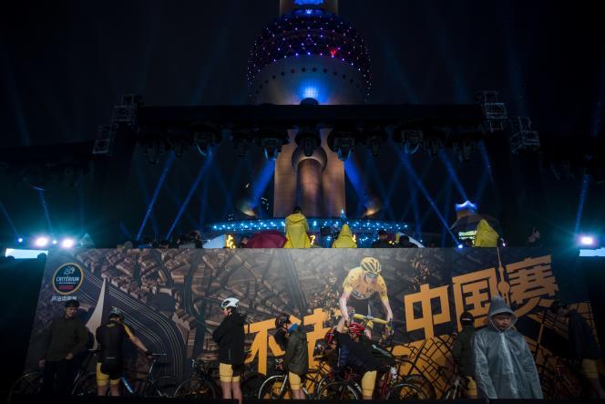 A Shanghaï, le 22 mars.