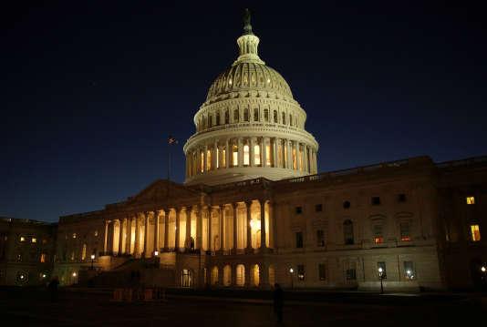 Le Capitole, siège du Congrès, à Washington, le 20 décembre 2016.