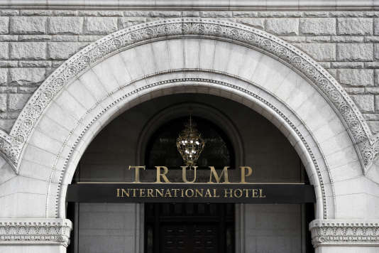 Le Trump Hotel International de Washington, en 2016.