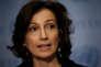 Audrey Azoulay, la ministre française de la culture, au siège des Nations Unies à New York, le 24 mars 2017.