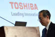 Le patron de Toshiba, Satoshi Tsunakawa, le 14 mars à Tokyo.