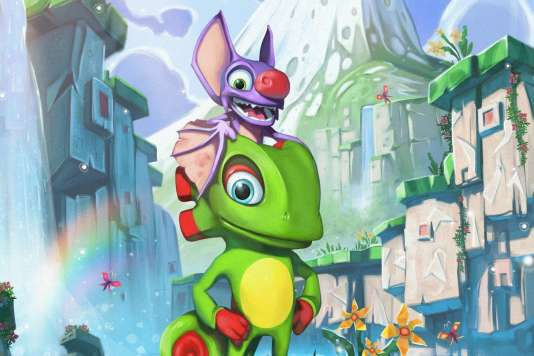 Image d'illustration du jeu vidéo «Yooka-Laylee».